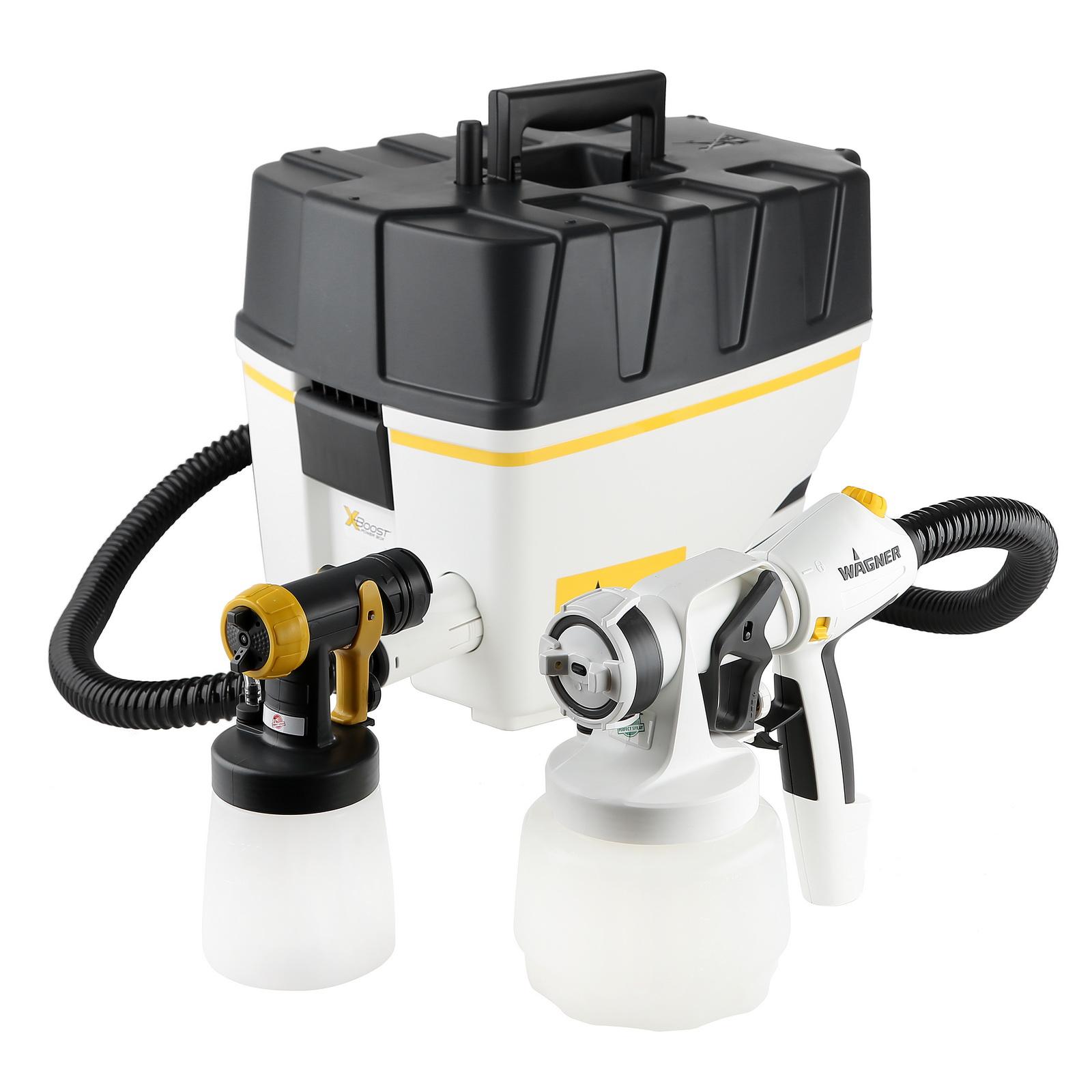 Фото 1/2 W867e all-spray, Краскопульт с выносным компрессором