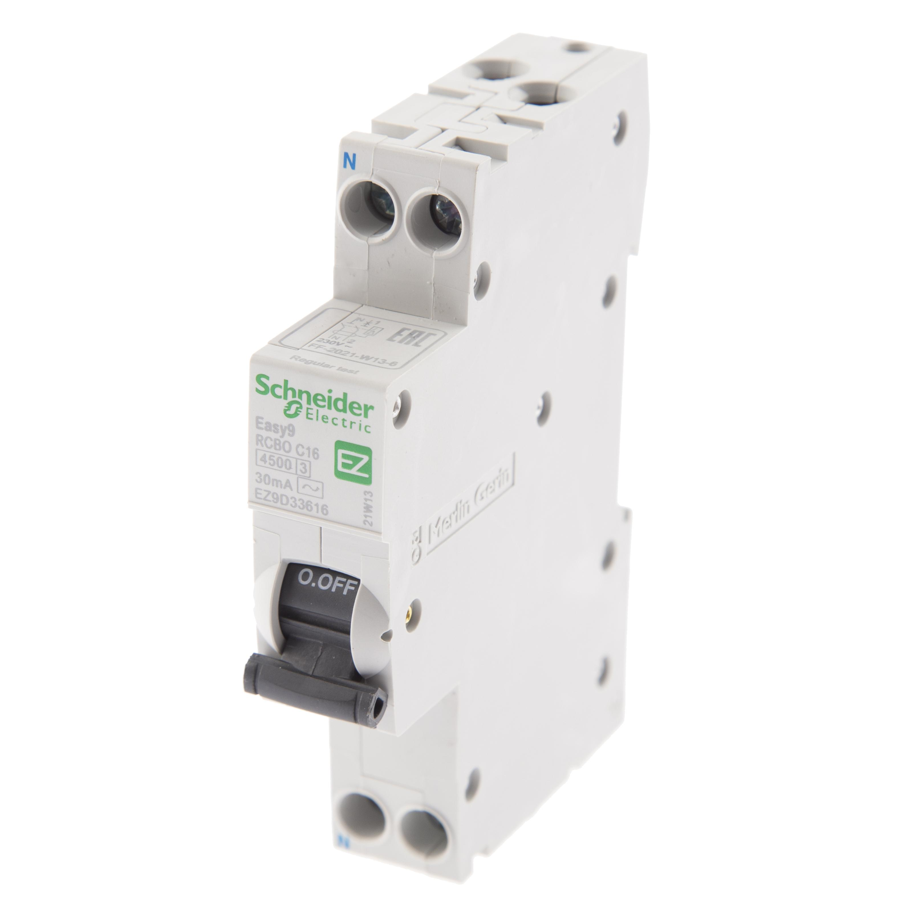 Диф. автомат Schneider electric Ez9d33616