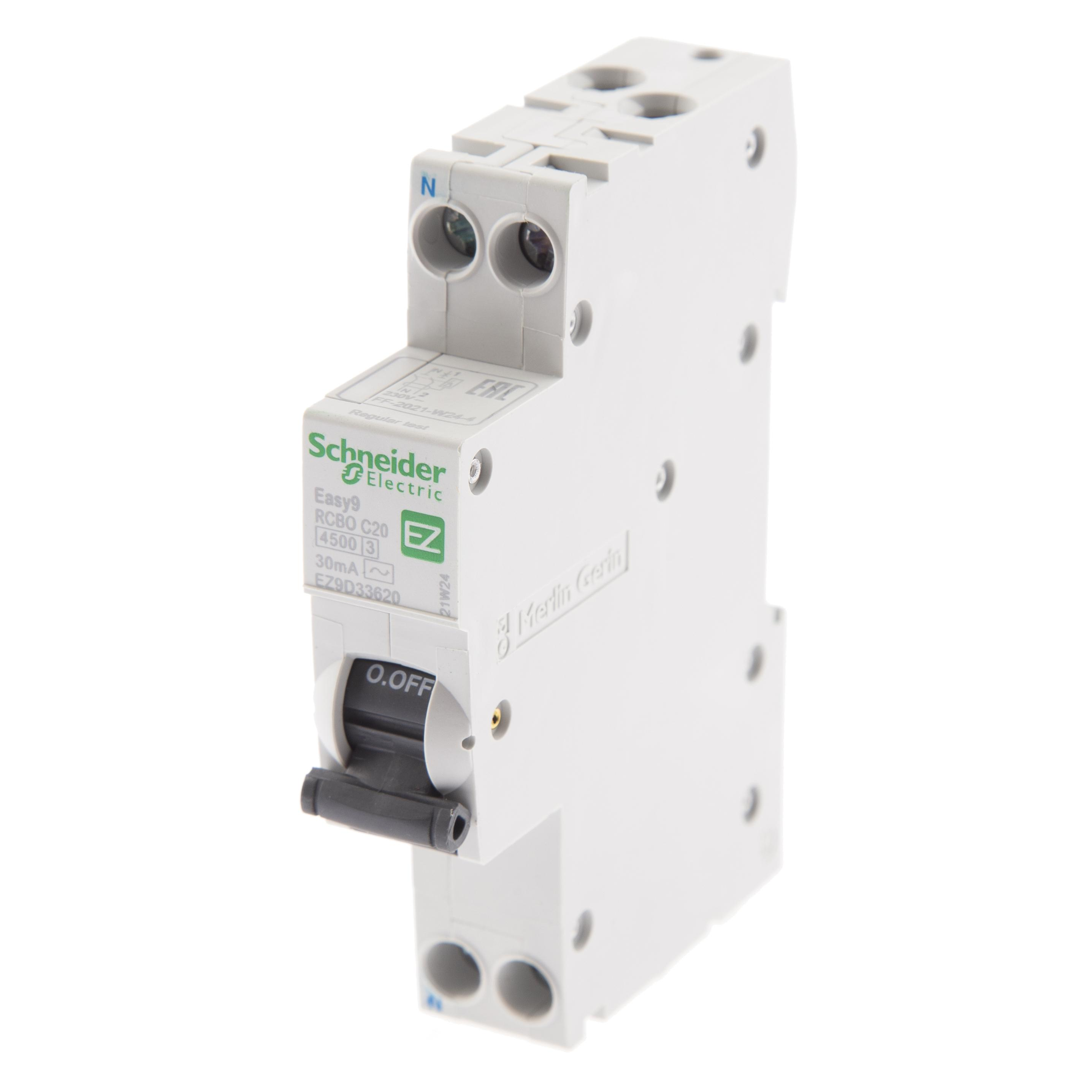 Диф. автомат Schneider electric Ez9d33620