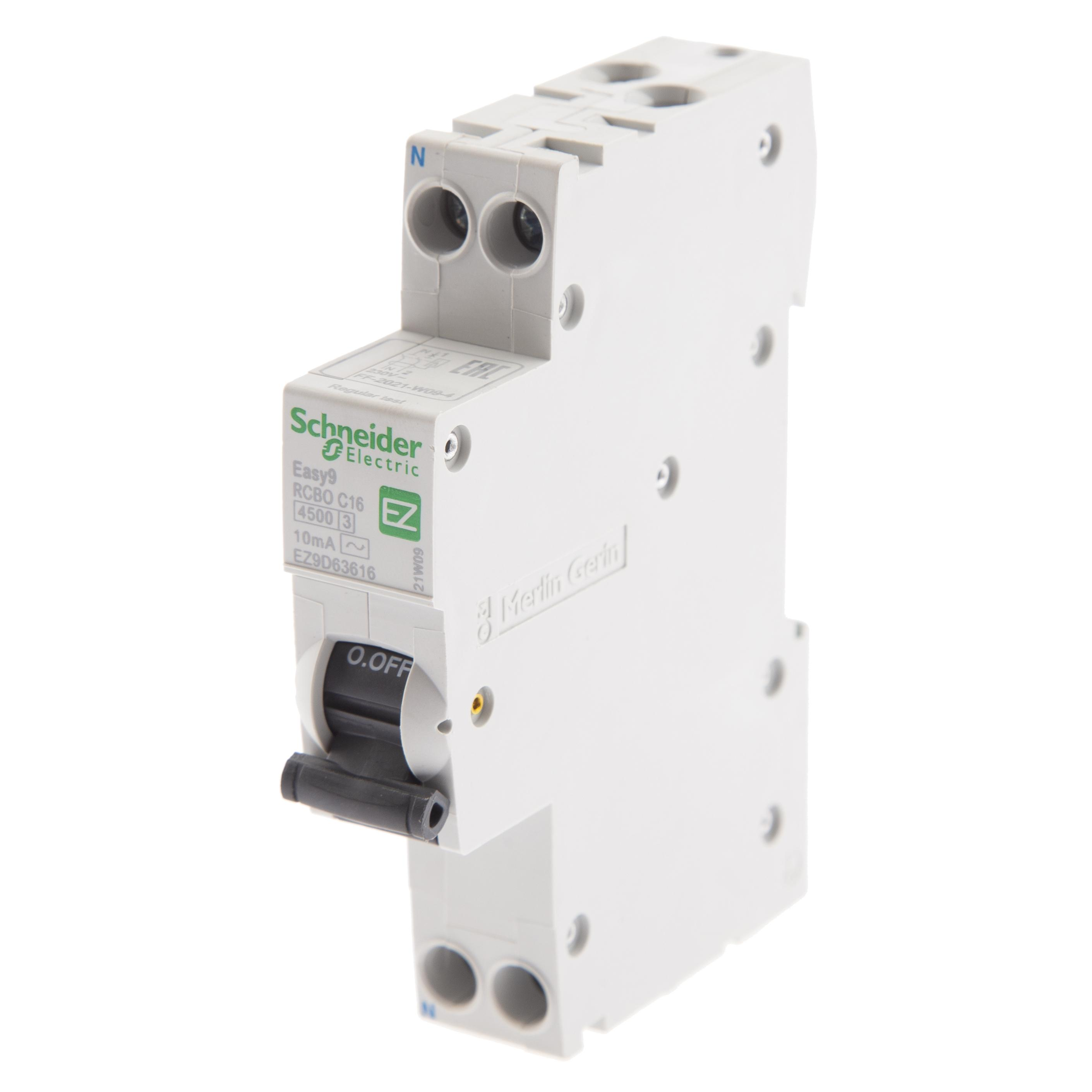 Диф. автомат Schneider electric Ez9d63616