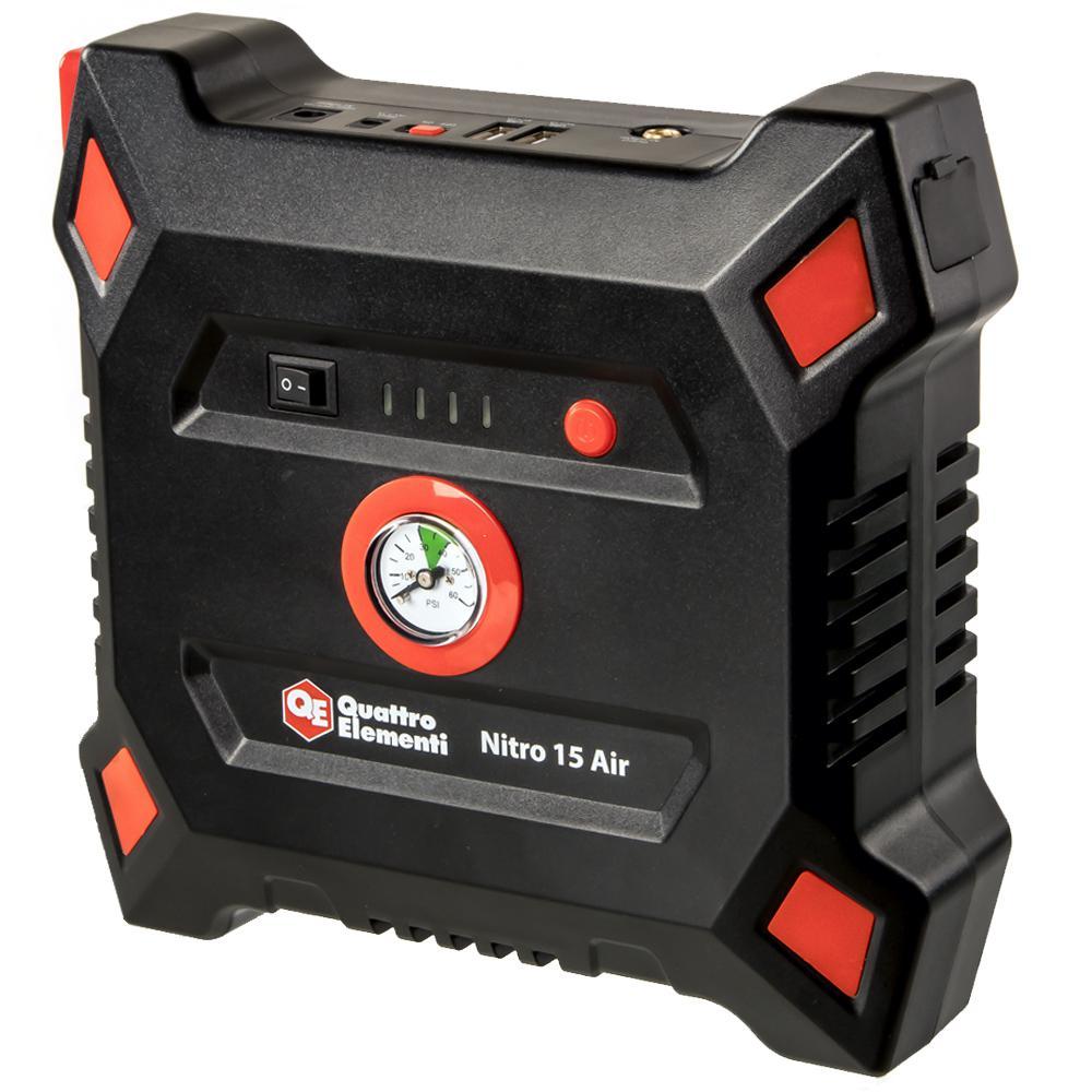 Фото - Устройство пусковое Quattro elementi Nitro 15 air (790-335) зарядные устройства для планшетов