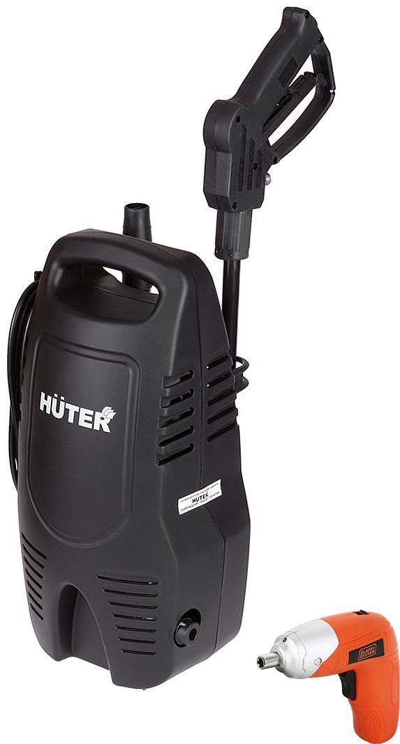 Набор Huter Мойка высокого давления w105-Р +Отвертка аккумуляторная kc3610-ru