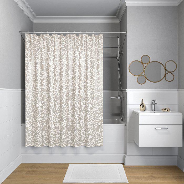 Штора для ванной комнаты Iddis B30p218i11 тумба для ванной комнаты с раковиной iddis cal80w0i95 0066000i28