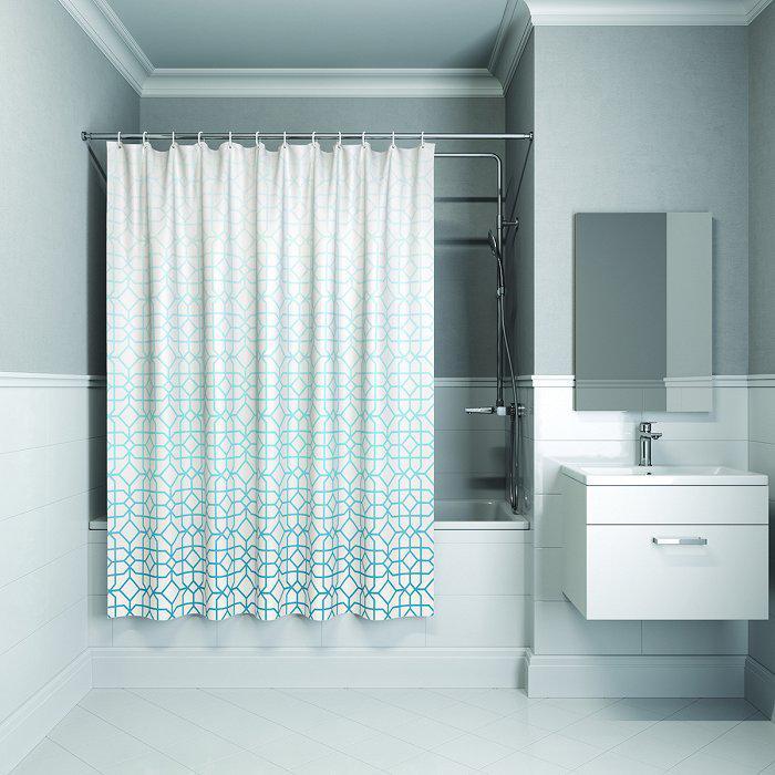 Штора для ванной комнаты Iddis B22p218i11 тумба для ванной комнаты с раковиной iddis cal80w0i95 0066000i28