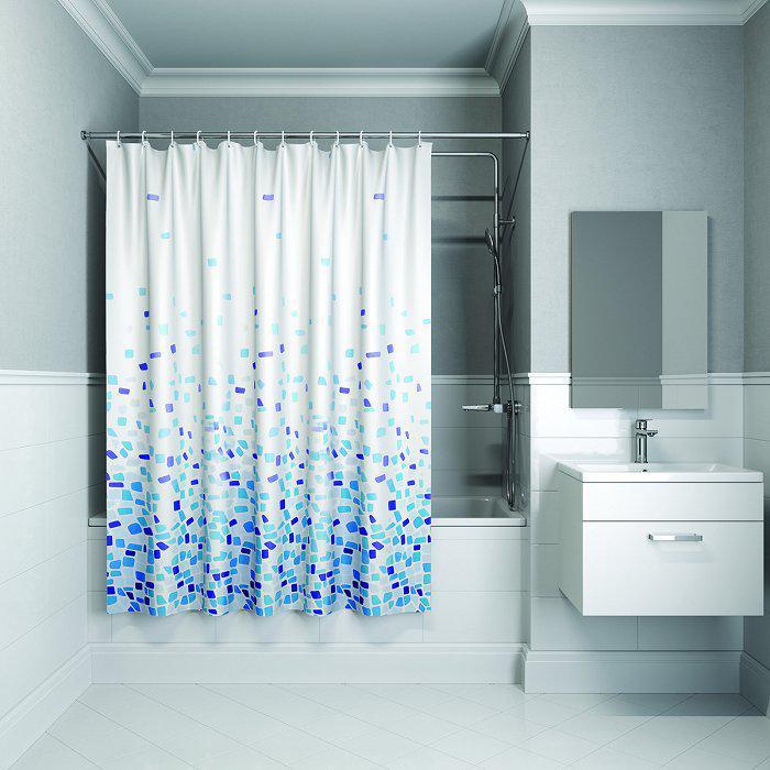 Штора для ванной комнаты Iddis B20p218i11 тумба для ванной комнаты с раковиной iddis cal80w0i95 0066000i28