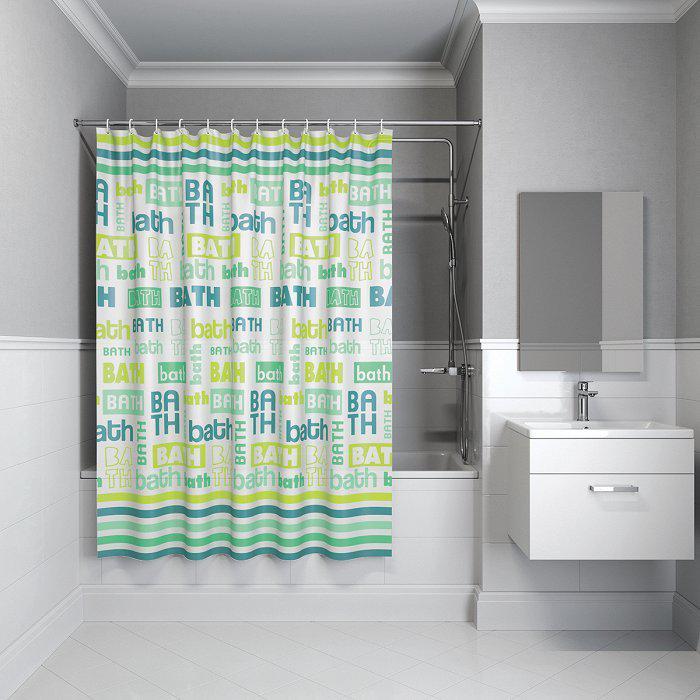 Фото - Штора для ванной комнаты Iddis B19p218i11 штора для ванной комнаты iddis basic b19p218i11