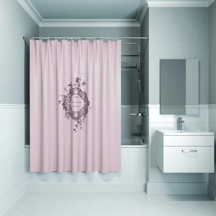 Штора для ванной комнаты Iddis B15p218i11 тумба для ванной комнаты с раковиной iddis cal80w0i95 0066000i28