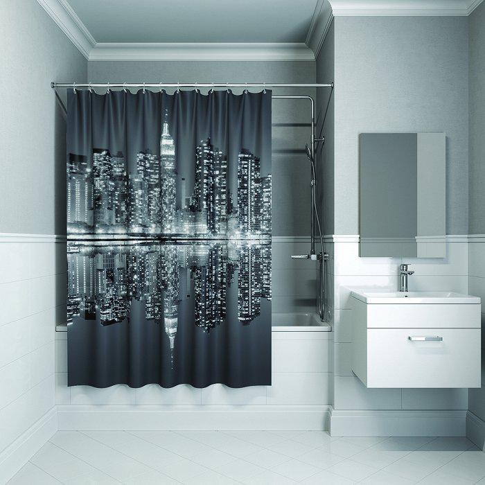 Штора для ванной комнаты Iddis B04p118i11 тумба для ванной комнаты с раковиной iddis cal80w0i95 0066000i28