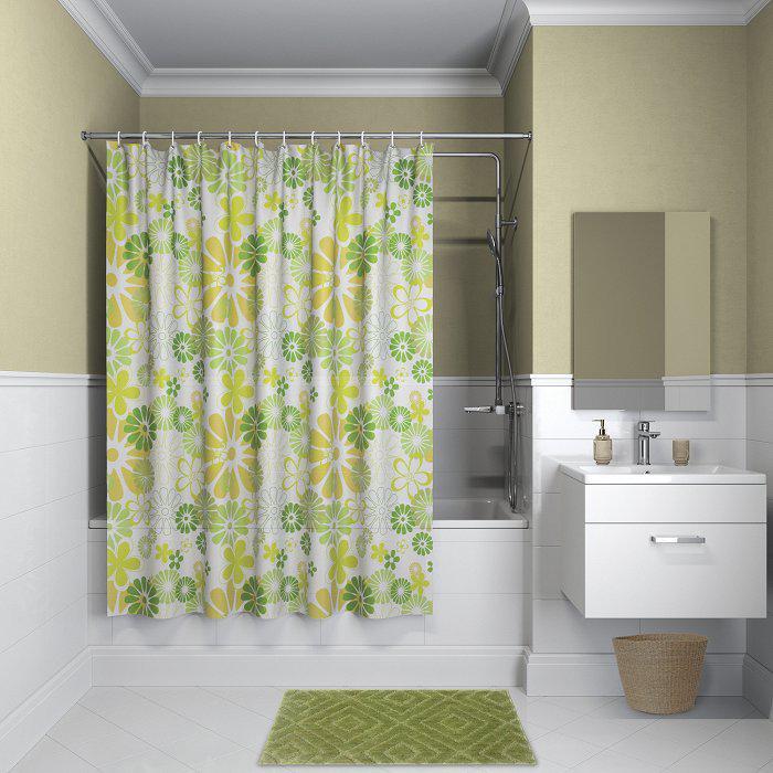 Штора для ванной комнаты Iddis P01p118i11 тумба для ванной комнаты с раковиной iddis cal80w0i95 0066000i28