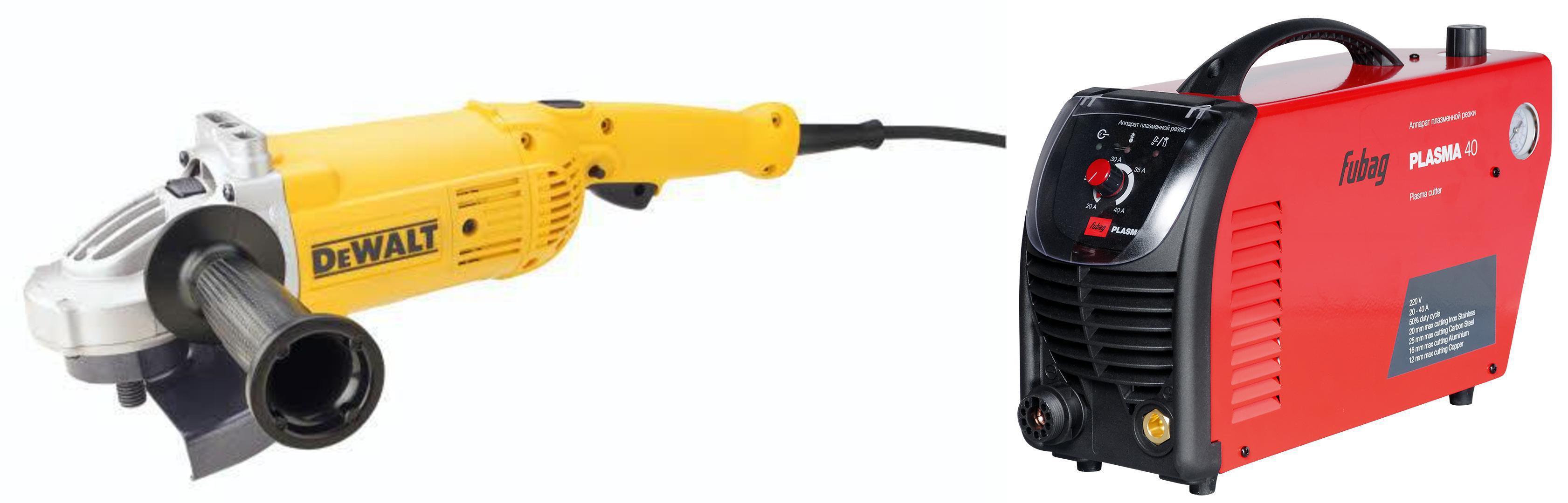 Набор Fubag Аппарат плазменной резки plasma 40 +УШМ (болгарка) dwe496-ks