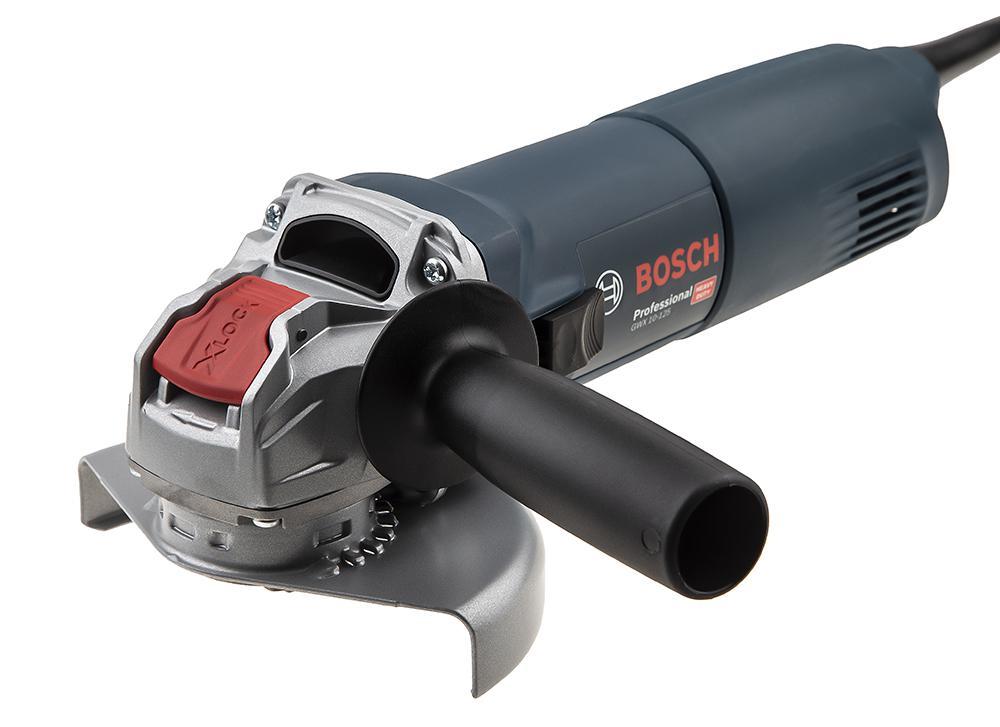 УШМ (болгарка) Bosch Gwx 10-125 (06017b3000) x-lock