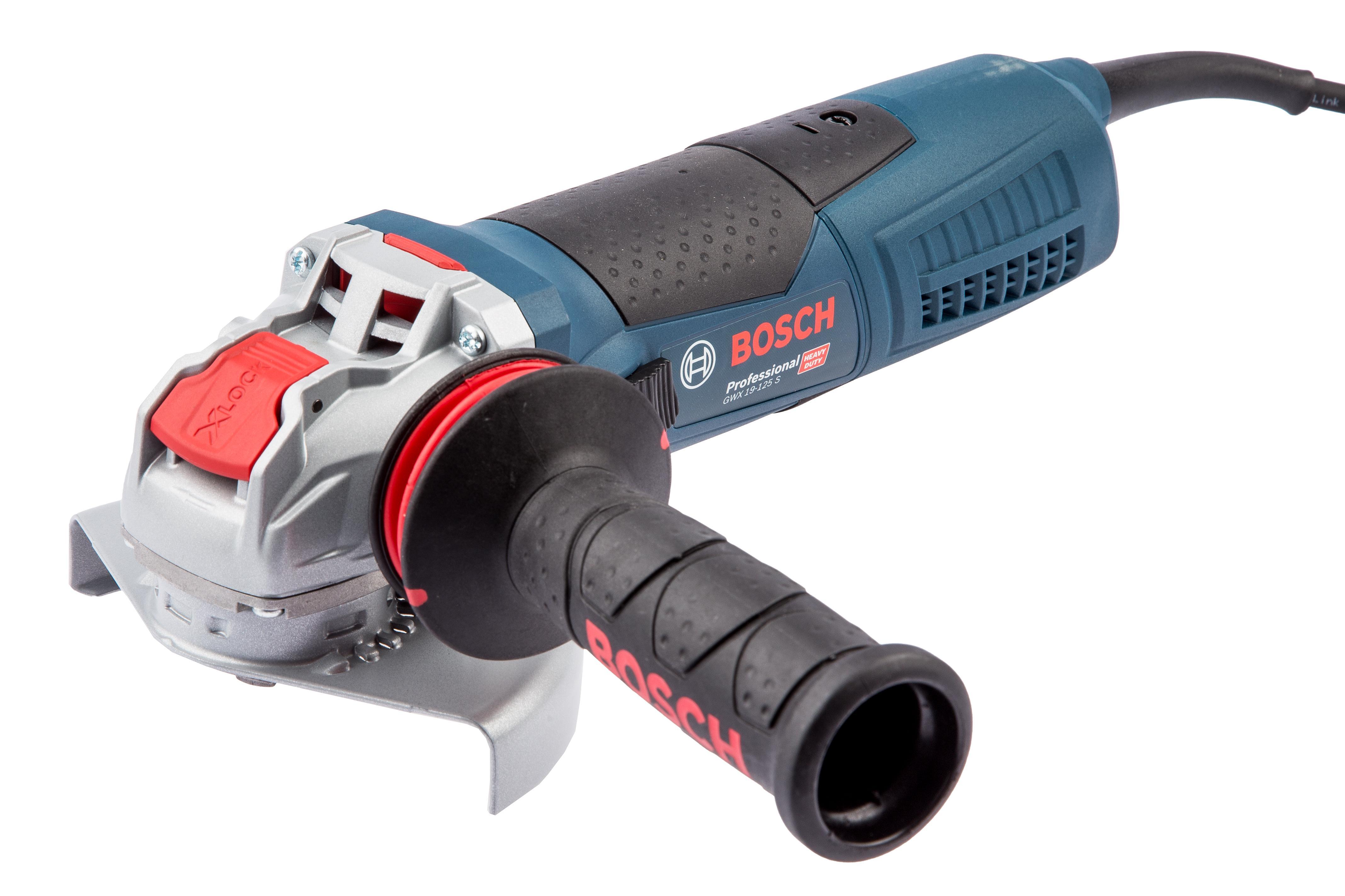 УШМ (болгарка) Bosch Gwx 19-125 s (06017c8002) x-lock