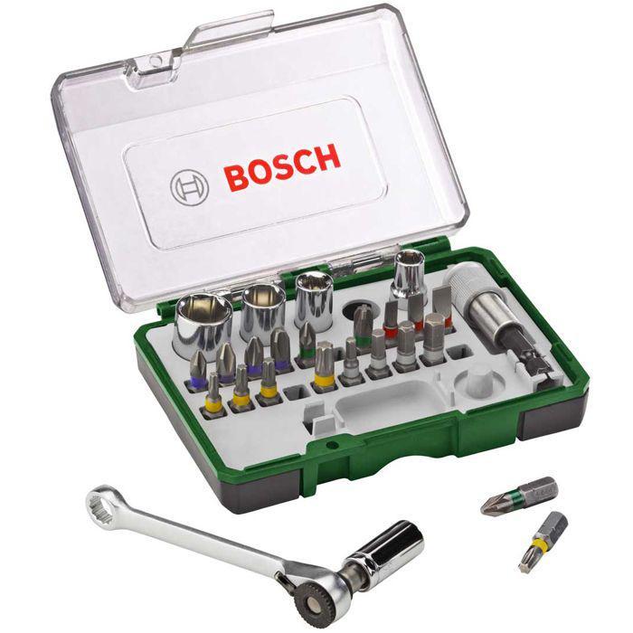 Набор бит и головок Bosch Promoline-27 2 607 017 160 цена