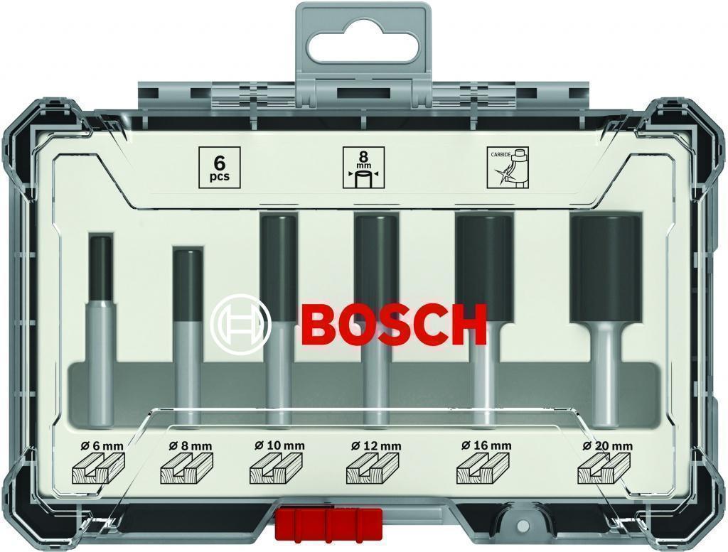 Набор фрез Bosch S8мм (2607017466)