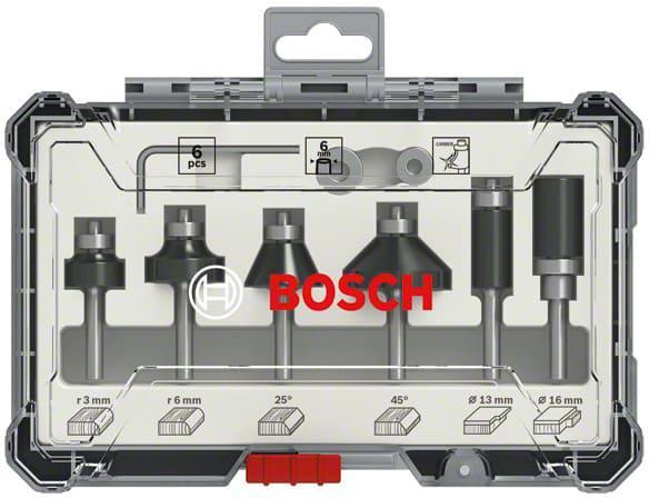 Набор фрез Bosch S6мм (2607017468)