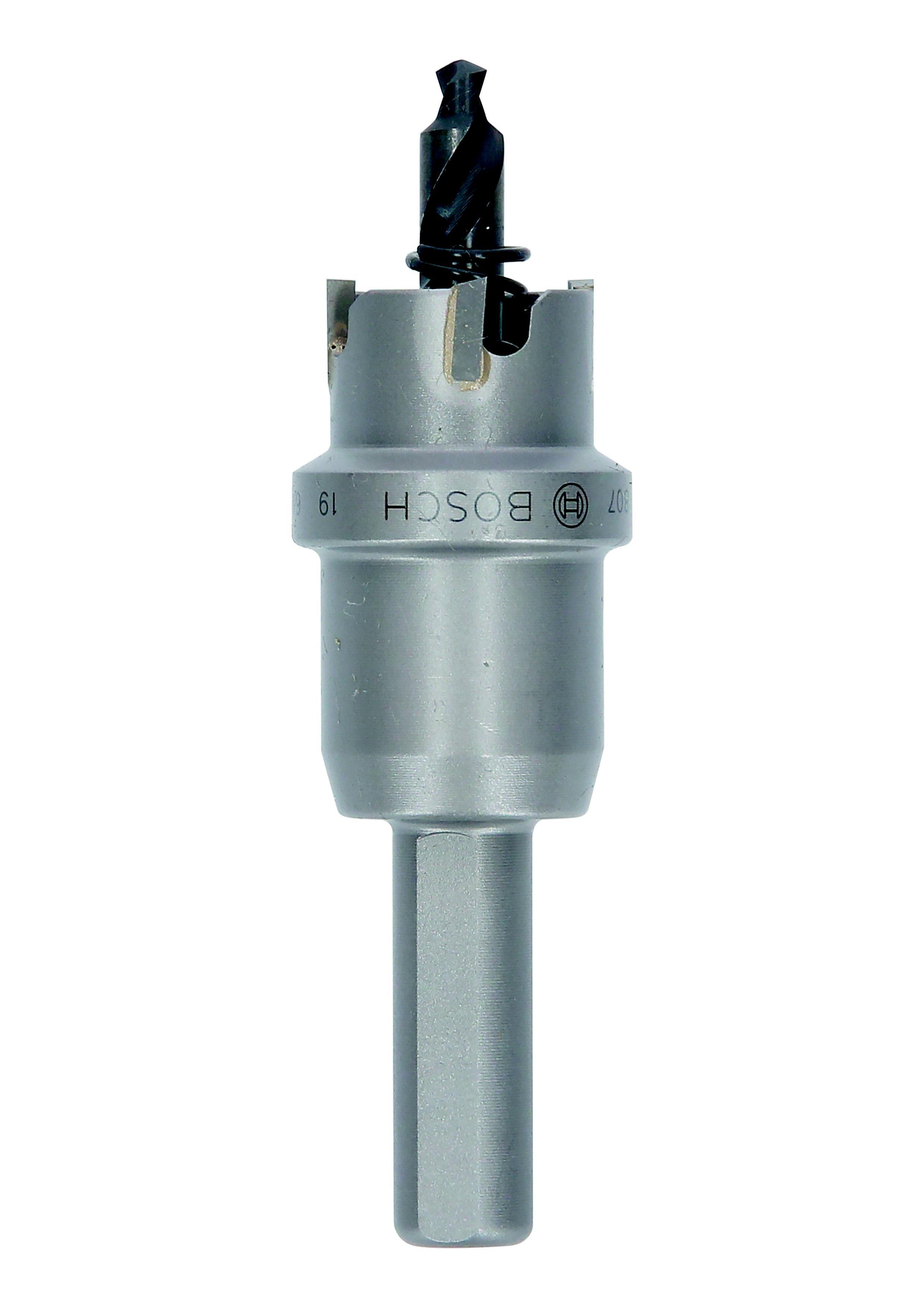 Коронка твердосплавная Bosch Ф19мм шестигранник (2608594130) коронка твердосплавная bosch 2 608 594 129 18мм