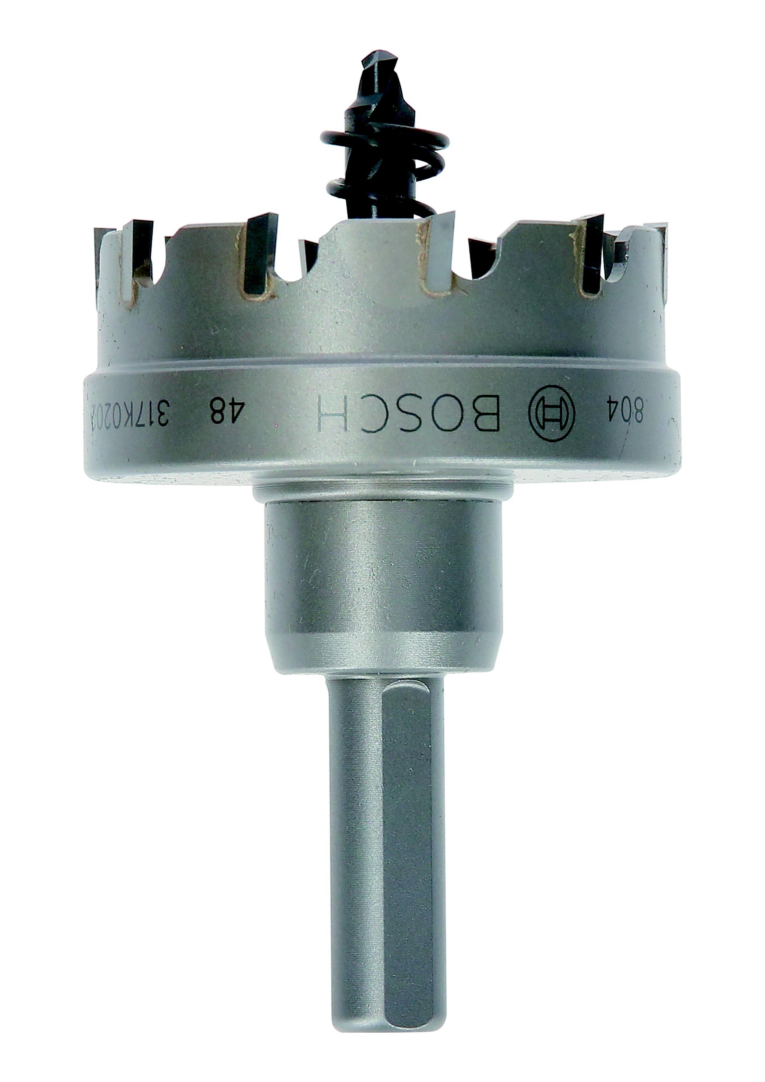 Коронка твердосплавная Bosch Ф48мм шестигранник (2608594150) коронка твердосплавная bosch 2 608 594 129 18мм