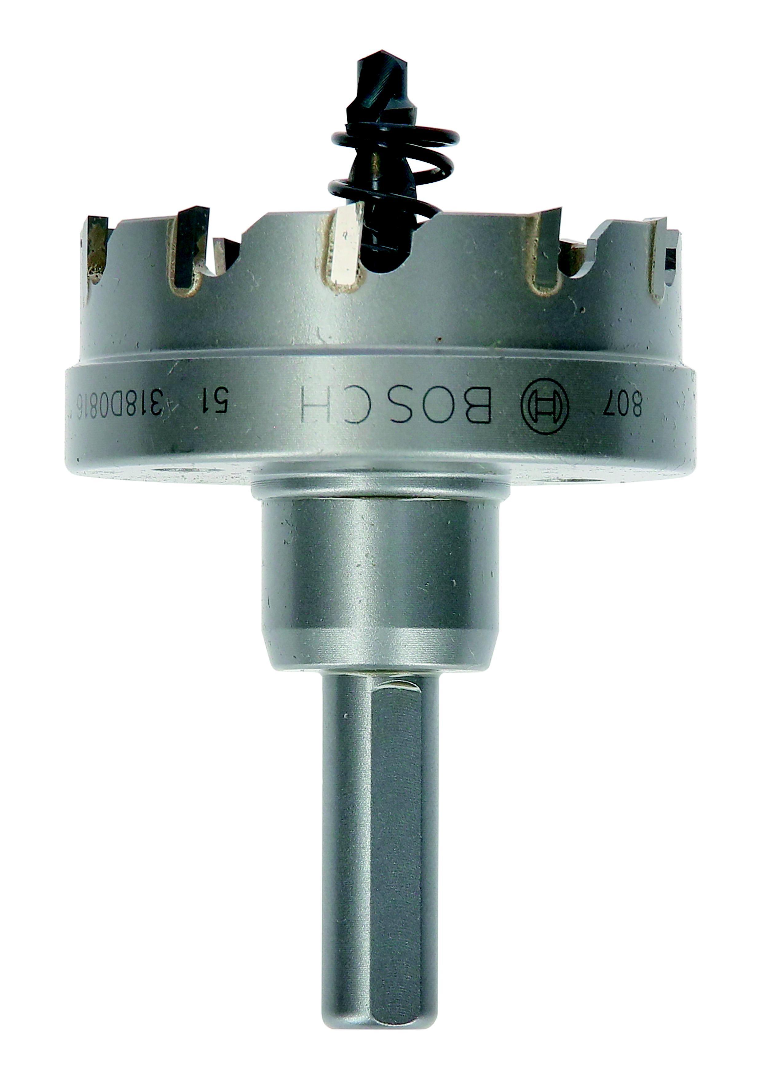 Коронка твердосплавная Bosch Ф51мм шестигранник (2608594152) коронка твердосплавная bosch 2 608 594 129 18мм