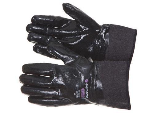 перчатки химостойкие ELEMENTA Expert Black Crystal Guard