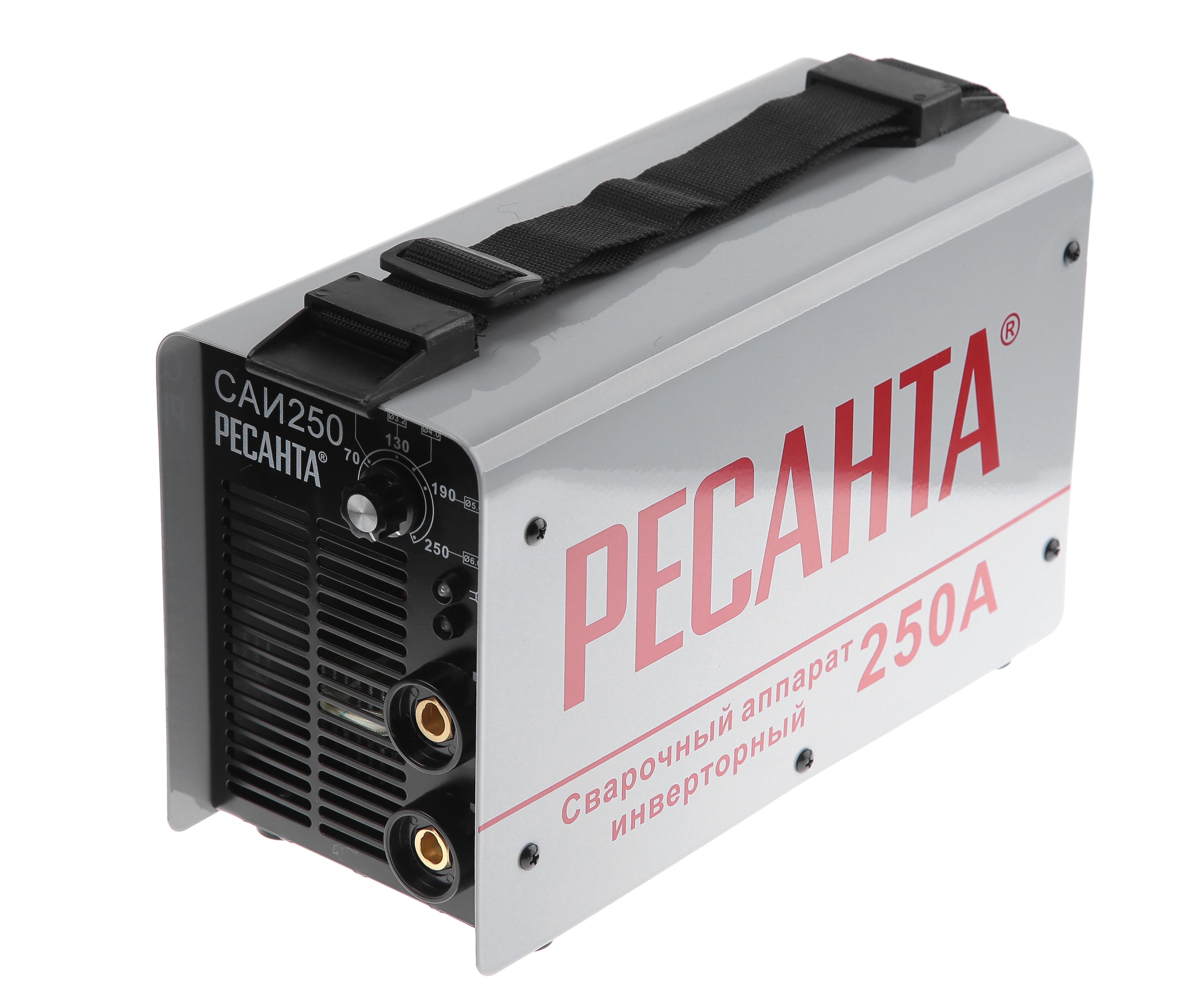 Сварочный инвертор РЕСАНТА САИ 250 сварочный полуавтомат ресанта саипа135