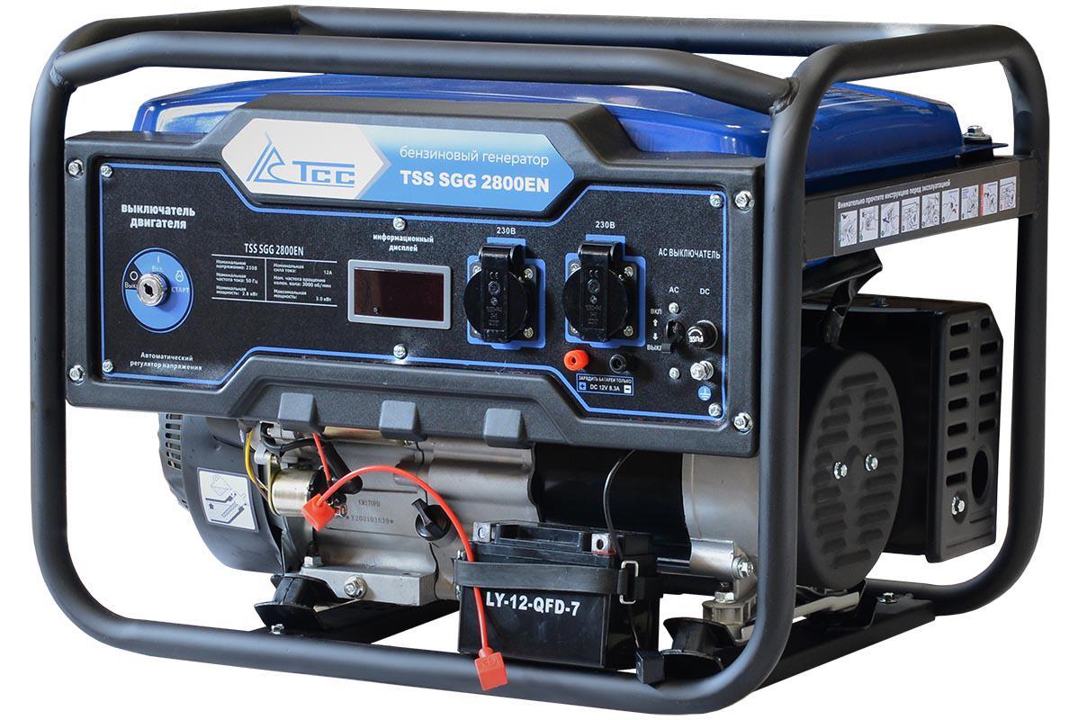 Бензиновый генератор ТСС Sgg 2800en генератор бензиновый tss sgg 7000e