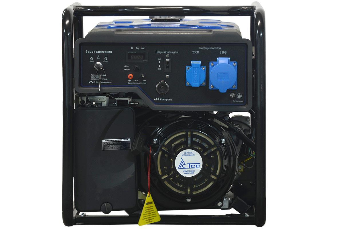 Бензиновый генератор ТСС Sgg 7000 ea генератор бензиновый tss sgg 7000e