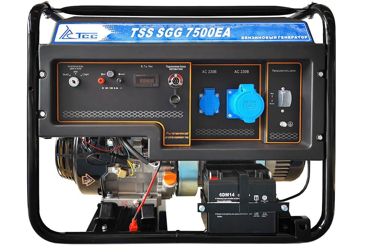 Бензиновый генератор ТСС Sgg 7500Еa генератор бензиновый tss sgg 7000e