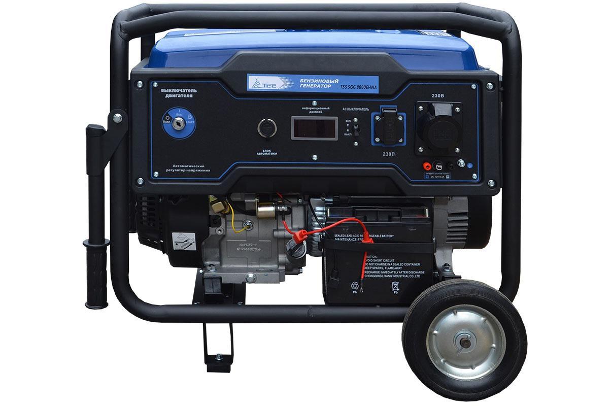 Бензиновый генератор ТСС Sgg 8000ehna генератор бензиновый tss sgg 7000e