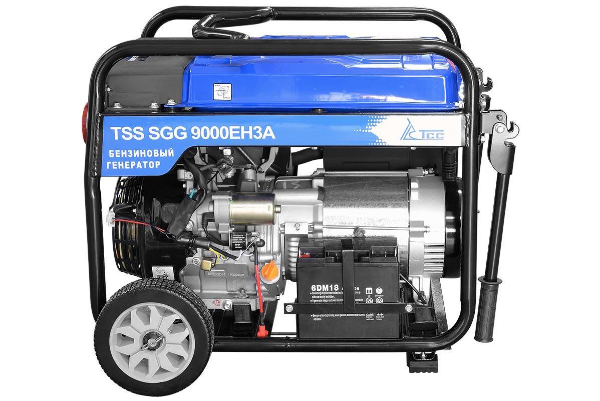 Бензиновый генератор ТСС Sgg 9000 eh3a генератор бензиновый tss sgg 7000e