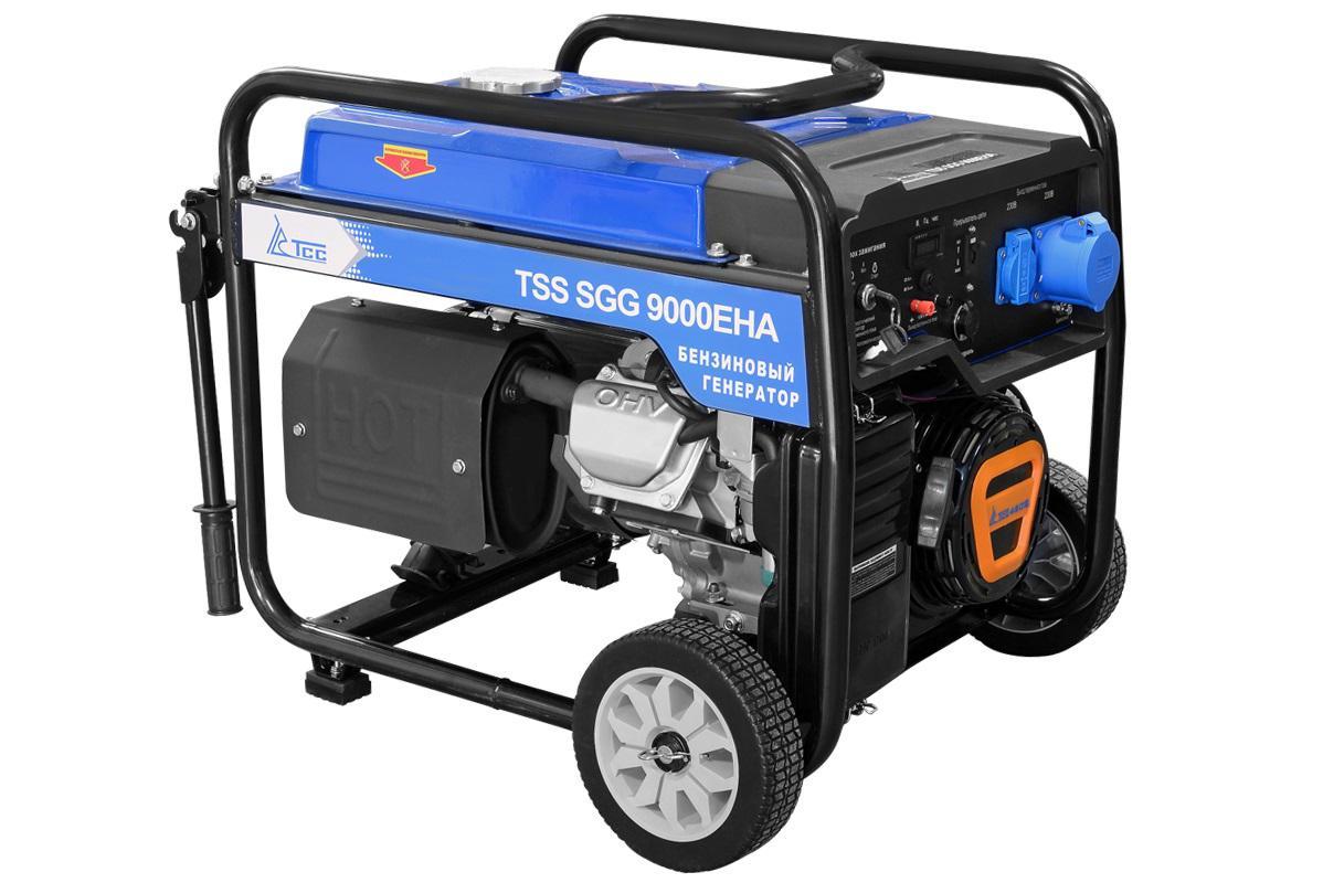 Бензиновый генератор ТСС Sgg 9000 eha генератор бензиновый tss sgg 6000eh