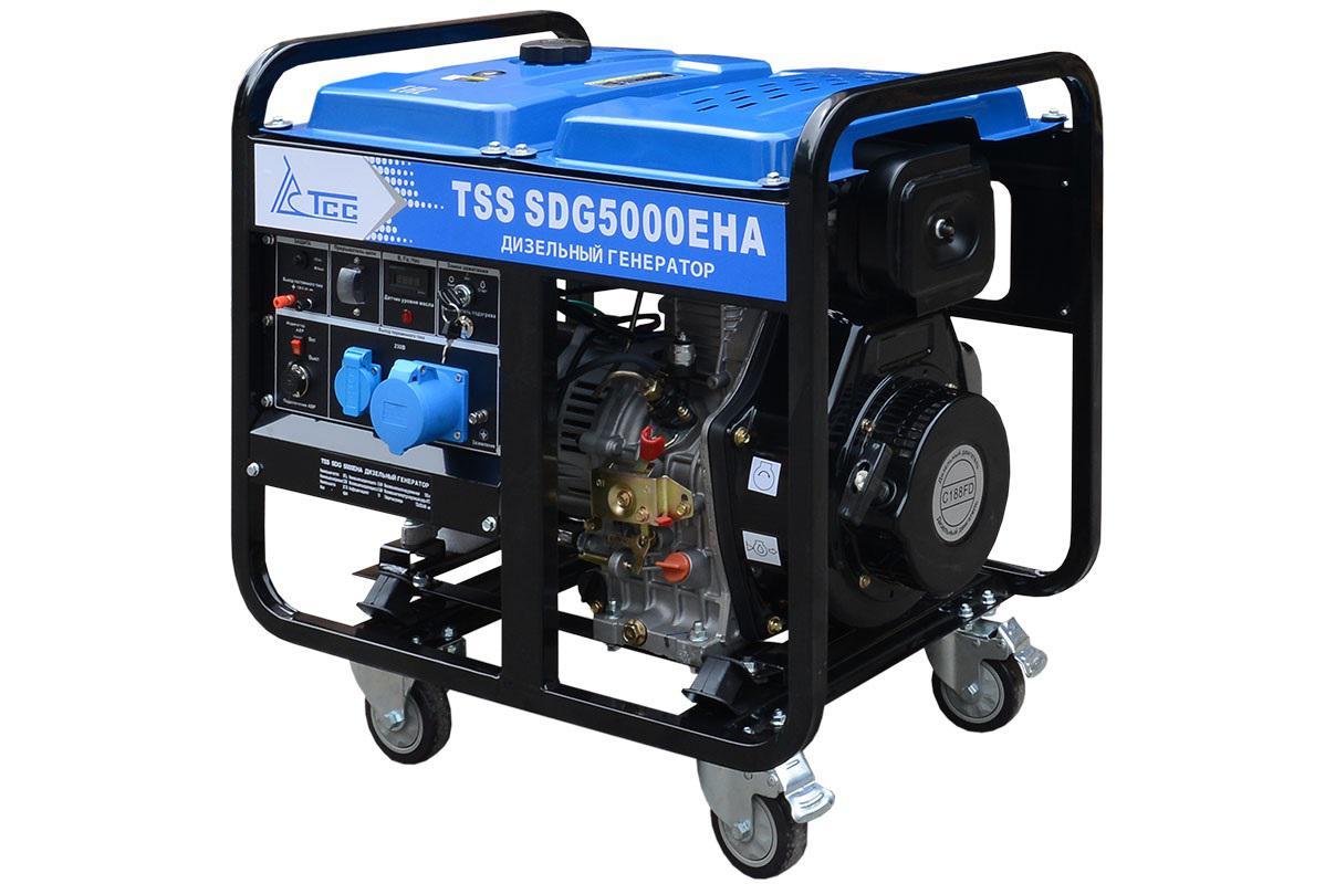 Дизельный генератор ТСС Sdg 5000eha дизельный генератор тсс sdg 5000e