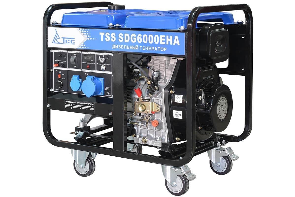 Дизельный генератор ТСС Sdg 6000eha дизельный генератор тсс sdg 5000e