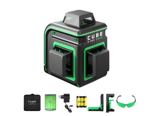 Уровень лазерный ADA Cube 3-360 GREEN Home Еdition A00566