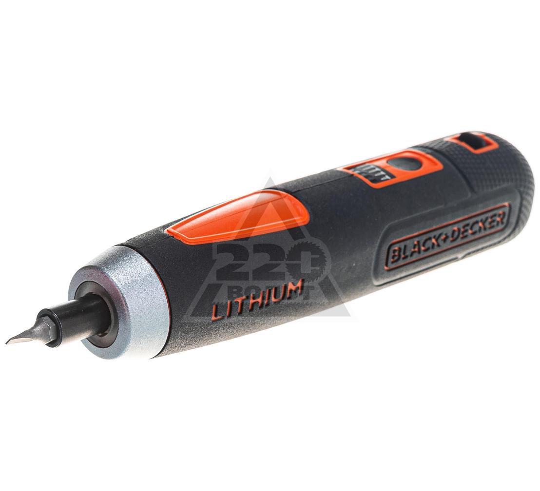 Отвертка аккумуляторная BLACK & DECKER BD40K4