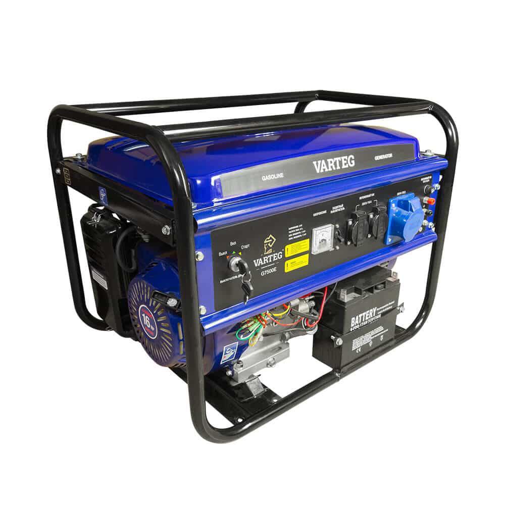 Бензиновый генератор Foxweld Varteg g7500 e (5822)
