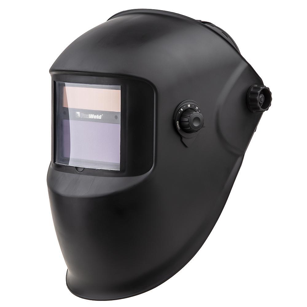 Маска Foxweld КОРУНД Черная (5895) p i t маска хамелеон p843001 регул зат din 9 13 питание 2 миз бат черная б упак [p843001 1 б упаковки]