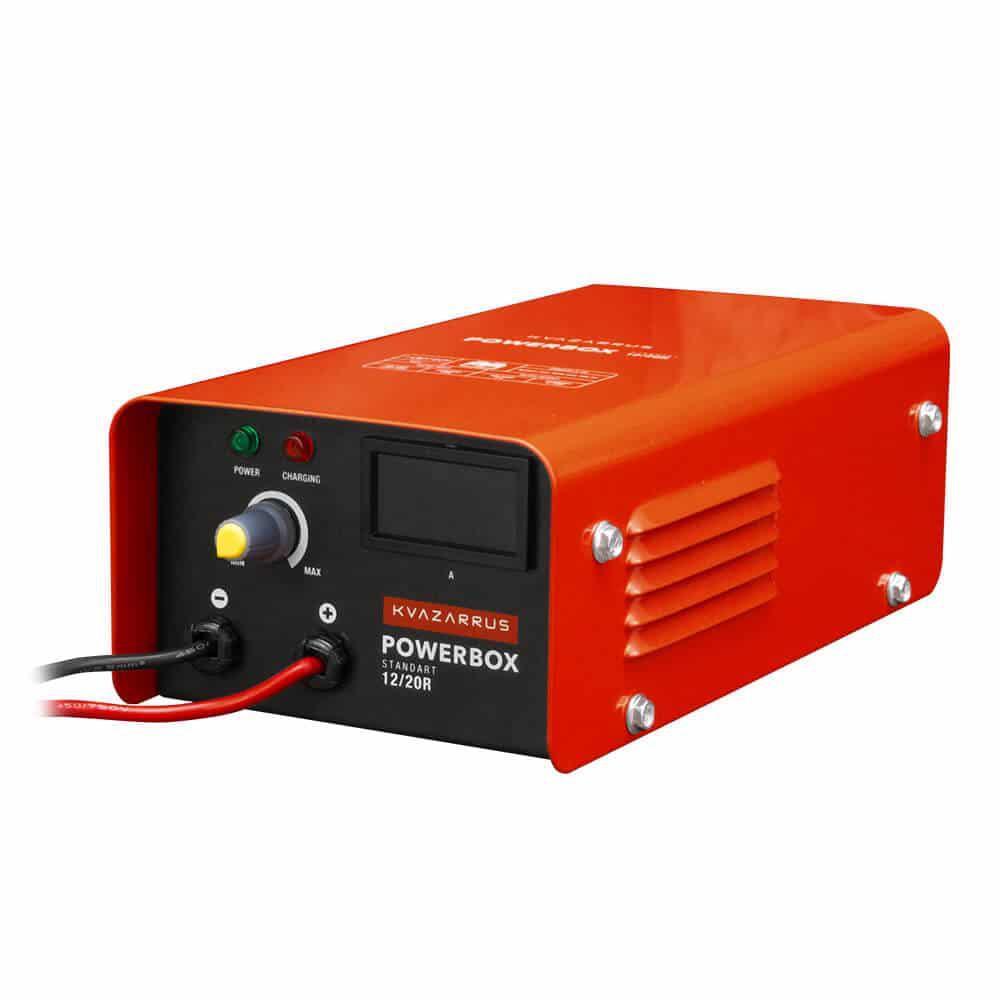 Зарядное устройство Foxweld Kvazarrus powerbox 12/20r (6482) jd коллекция pd быстрая зарядка комплект зарядного устройства для автомобиля 36 вт черный по умолчанию