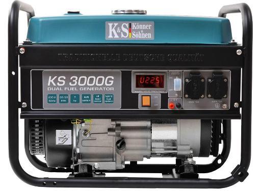 Бензиновый генератор KONNER&SOHNEN KS 3000G