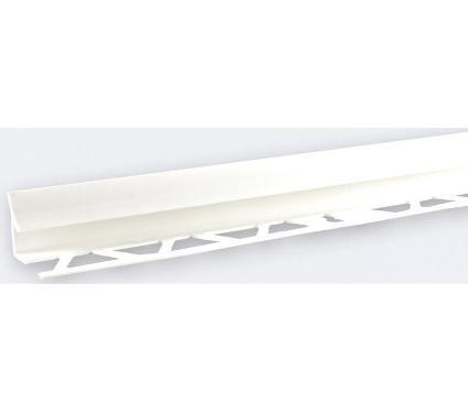 Раскладка ЛАЙНПЛАСТ 9-10мм 2,5м белый LRVB001-9-10