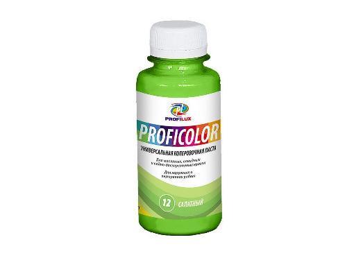 Краситель PROFILUX 6402 №12 салатный 100мл, универсальный- колеровка красок,растворов, затирок