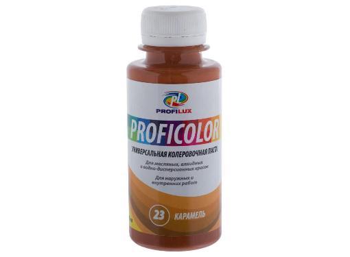 Краситель PROFILUX 6413 №23 карамель 100мл, универсальный- колеровка красок,растворов, затирок