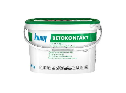 Грунтовка KNAUF Бетоконтакт 20кг для гипсовых штукатурок