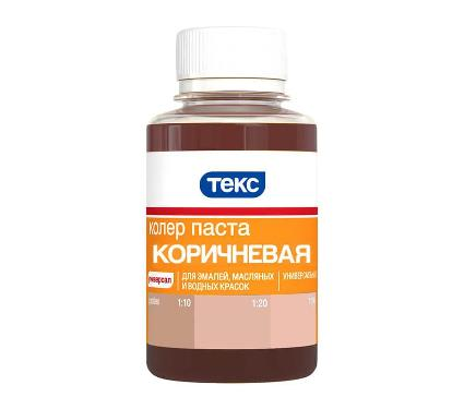 Паста ТЕКС №13 коричневая 0,1л универсальная