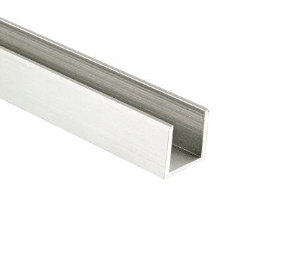 Швеллер NN ink. алюминиевый 15х15х15х1,5мм 2м