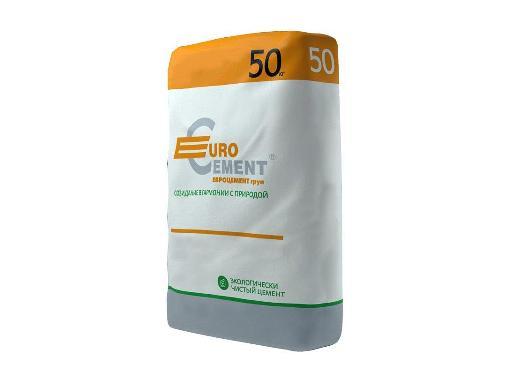 Цемент ЕВРОЦЕМЕНТ ЦЕМ I 42,5Н М-500 (099206) 50 кг