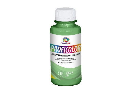 Краситель PROFILUX PROFICOLOR №13 зелёная ель 100мл универсальный