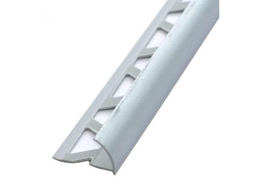 Раскладка-уголок под плитку NN ink. 9-10мм наружная 2,5м белая 1шт