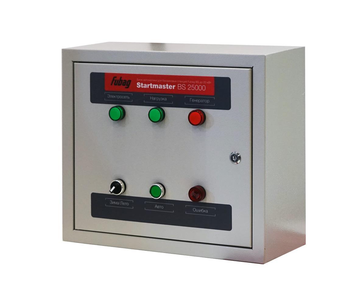 Фото - Блок автоматики Fubag Startmaster bs 25000 блок автоматики fubag startmaster bs6600 230v для бензиновых станций
