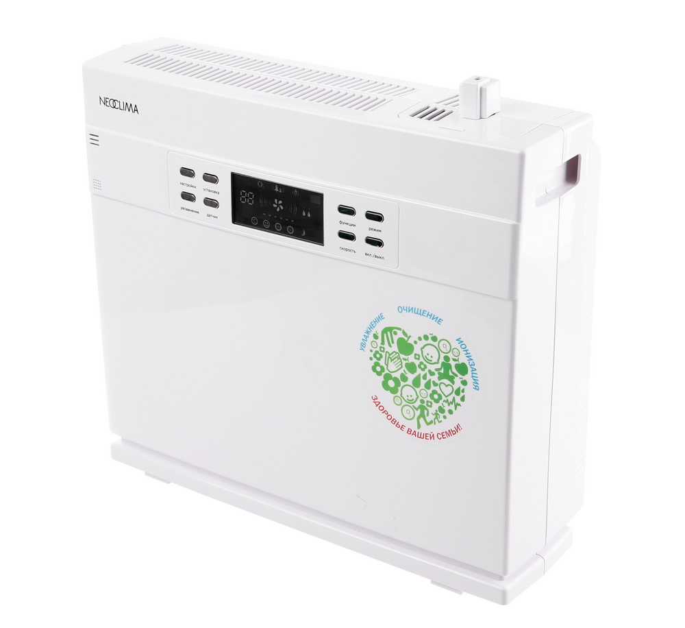 все цены на  Очиститель Neoclima Ncc-868 воздухоочиститель, белый  онлайн