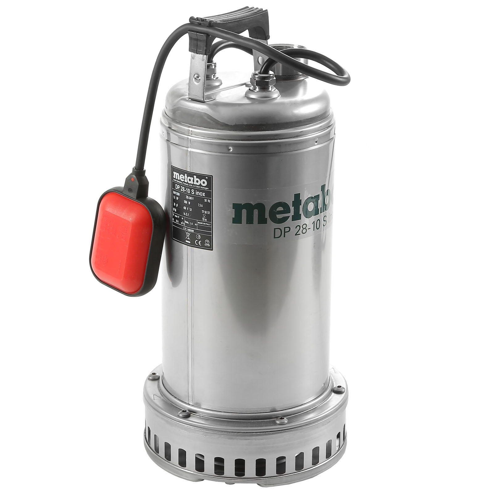 Дренажный насос Metabo Dp 28-10 s inox (604112000) насос для воды neoclima dp 1100 dk